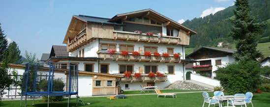 Haus Margreth, Familie Klammer